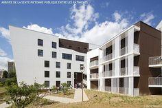 150 logements collectifs et de 80 parkings souterrains à Saint-Ouen l'Aumône (95)., par ARCAME - VILET PEZIN