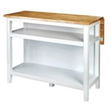 For Living Kitchen Island with Folding Leaf is a great addition to your kitchen | Canadian Tire