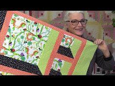6 Ways to Make an Attic Window Quilt Block - YouTube