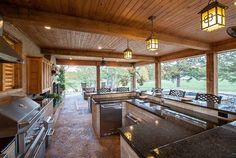Outdoor Kitchen - Swimming Pools Jackson MS