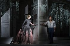 Royal Opera House - Don Giovanni Inside the costume shop: Painting & dyeing Donna Anna's Dress