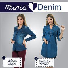 Mums rock denim! Perfectos para una caminata por el parque :D #denim #maternity #maternidad #maternityclothes #athinamaternity #motherhood #casual