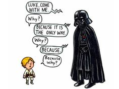 Father knows best in Darth Vader and Son