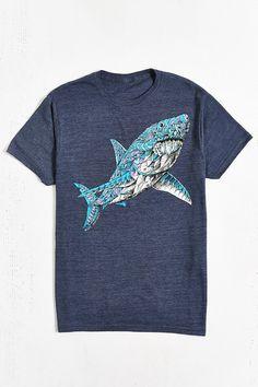 Riot Society Ornate Shark Tee