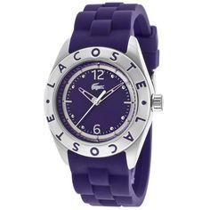 Women's Purple Dial Purple Silicone - Lacoste Watch
