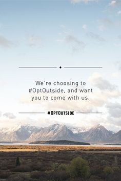 """For 76 years, our co-op has been dedicated to one thing and one thing only: a life outdoors. We believe that being outside makes our lives better. And Black Friday is the perfect time to remind ourselves of this essential truth. Skip Black Friday shopping and #OptOutside with us.  Photo credit: ©2015 VisitTheUSA.com from the film """"National Parks Adventure"""""""