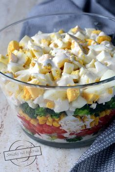 Salad Recipes, Cereal, Food And Drink, Pudding, Lunch, Cheese, Meals, Vegan, Healthy