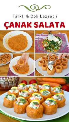 Gericht Salat (mit Video) - leckere Rezepte - # 3877680 Dish of salad (with video) - delicious recipes - # Yummy Recipes, Brunch Recipes, Dessert Recipes, Yummy Food, Tasty, Appetizer Dishes, Baked Chicken Breast, Turkish Recipes, Healthy Eating Tips