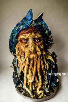 Davy Jones - cake by Christine
