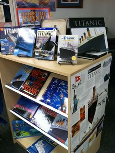 Titanic books -Spring 2012