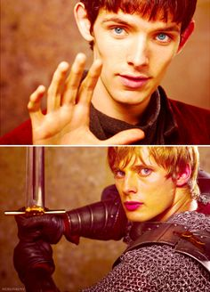 One of the best shows ever...love Merlin & Arthur