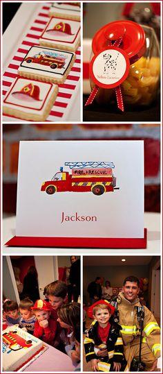 Fireman party!
