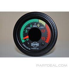 ISSPRO - Electric Pyrometer Gauge, Black, 2in., 1500F - R607VW.