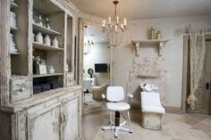 For both convenience and privacy, homeowners are installing personal salons