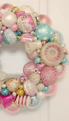 Pastel  Christmas  Something to do with old ornaments.... ~M