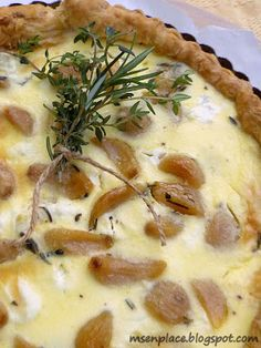 Ms. enPlace: Caramelized Garlic Tart