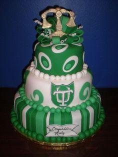 Law grad cake. Looks delicious!