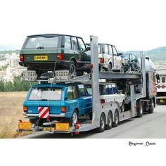 Range Rover transport