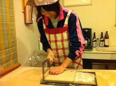 12月初頃、八千代のお蕎麦打ち