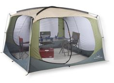 Amazon.com: L.L.Bean Woodlands Screen House: Sports & Outdoors
