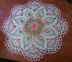 My lovely doily, I made myself