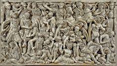 Flavius Etius the last Roman general ... (eng) http://www.romeandart.eu/en/art-flavius-etius.html