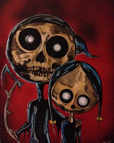 #fathersday #daughter #death #grim reaper #Halloween #daddy #Wednesday #love #tattoofacemiller