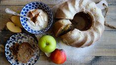 Bábovka sjablky, ořechy askořicí - Proženy Apple Dessert Recipes, Kefir, Doughnut, French Toast, Breakfast, Morning Coffee
