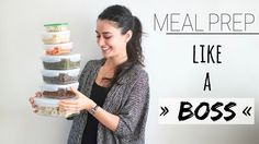 MEAL PREP » & minimize time in the kitchen