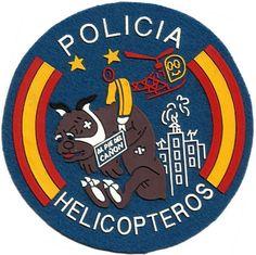 CUERPO NACIONAL DE POLICIA HELICOPTEROS SPANISH POLICE AIR UNIT EB00199