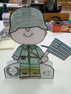 National Days, National Holidays, Veterans Day Activities, Sunday School Crafts, International Day, Independence Day, Diy And Crafts, Snoopy, War