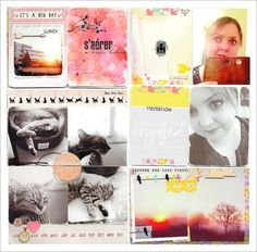 project life: All posts on project life - Art & Cie - Magali Maleinge