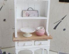 A kitchen dresser