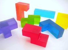 Tetris Block Soap  Set of 7 by SmallThingsForSale on Etsy, $6.00