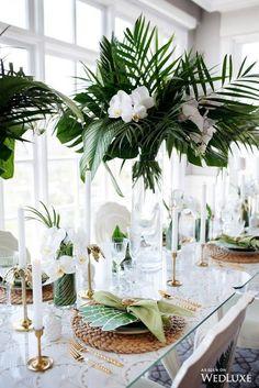 15 inspiring botanical wedding centerpieces - wedding themes - cuteweddingideas.com