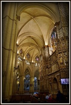 Spain. Toledo's gothic Cathedral