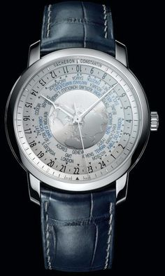 Vacheron Constantin Patrimony Traditionnelle World Time Collection Excellence Platine watch
