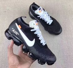 OFF-WHITE x Nike Air VaporMax Nike Air Vapormax, Best Sneakers, Sneakers Nike, Adidas Shoes, Custom Shoes, Runway Fashion, Fashion Tips, Womens Fashion, Petite Fashion