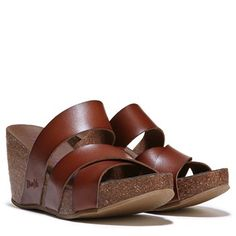 53095d22a3 Blowfish Hiro Wedge Sandal Whiskey Brown Wedge Sandals, Brown Wedges, Wedge  Heels, Summer