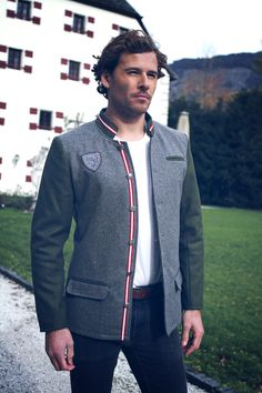 Blazer, Jackets, Men, Fashion, Grey, Down Jackets, Moda, Fashion Styles