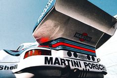 Classic - Martini Porsche 911Whale Tail