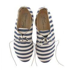 Schoen Stripe Marino Blue | Anniel | 9straatjesonline