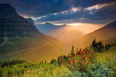 Nature 2 Glacier Park, Glacier Montana, Glacier National Park Montana, Beautiful Scenery, Beautiful Landscapes, Beautiful World, Beautiful Places, Amazing Places, Beautiful Sunrise