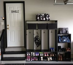 New garage locker's, thanks E!