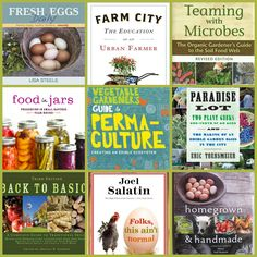 Must have books for homesteads, big and small.