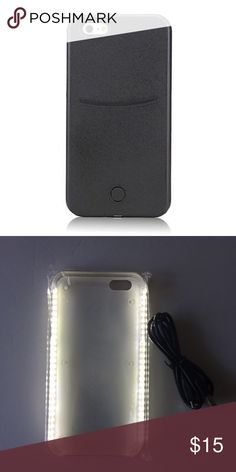 iPhone 6/6s LED light up selfie cellphone case Accessories Phone Cases
