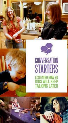 Conversation Starters - Games, Printables and other resources to get meaningful conversation going in your family