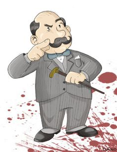 Hercule Poirot by ~claudiovc on deviantART