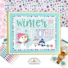 Artsy Albums Scrapbook Album and Page Layout Kits by Traci Penrod: Winter Wonderland Mini Album Kit Mini Scrapbook Albums, Scrapbook Cards, Mini Albums, Scrapbook Layout Sketches, Snowman Cards, Pop Design, Cricut Cards, Winter Cards, Winter Fun
