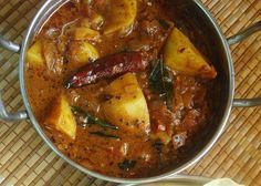 Spicy Potato Curry - For Rice | Home Cooks Recipe